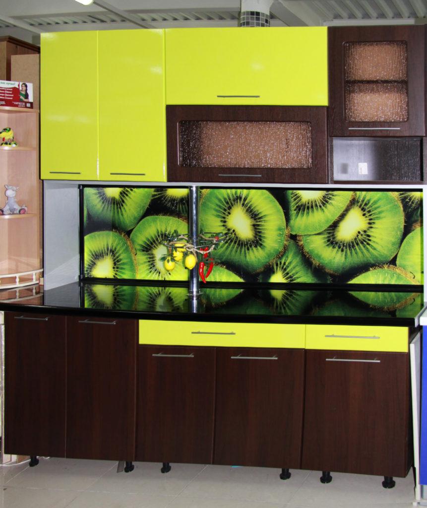 Кухонный фартук, стеновая панель киви