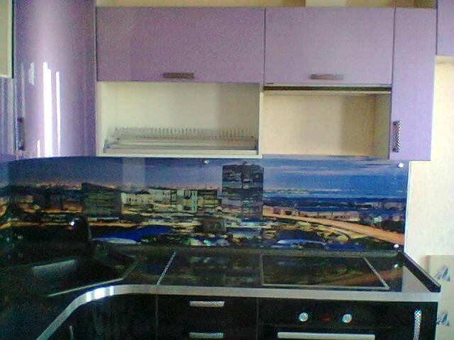 Стеновая панель для кухни, кухонный фартук в Курске изображение Города