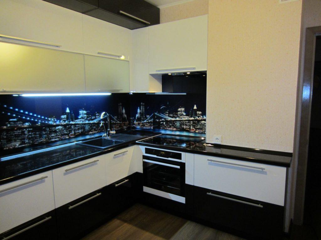 Бурклинский мост изображение для кухонного фартука