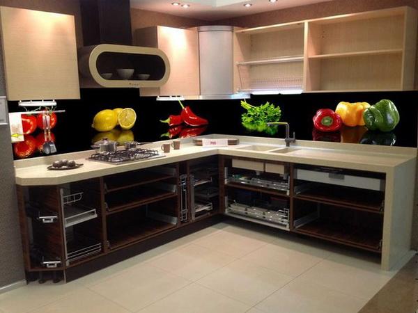 Черный кухонный фартук в Курске