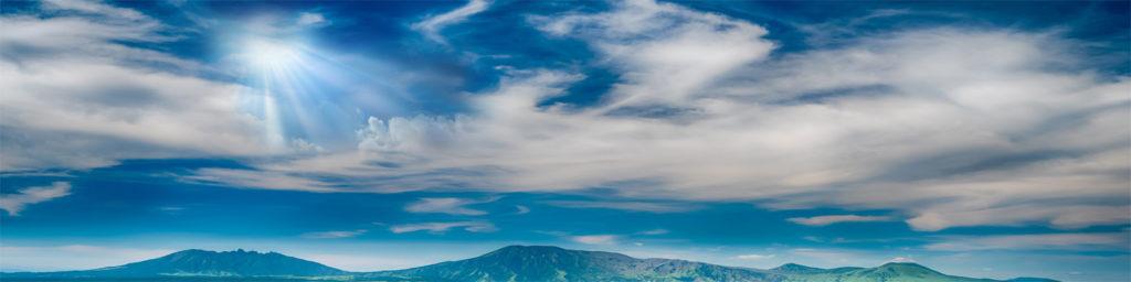 изображение для стеновой панели небо, облака