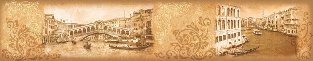 изображение для кухонного фартука венеция, изображение для скинали венеция