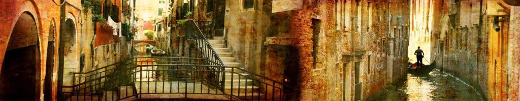 изображение для кухонного фартука венеция, изображение для скинали состариное