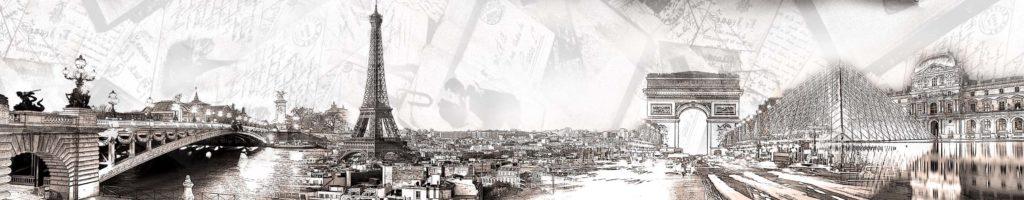 изображение для кухонного фартука париж, картинка для скинали город