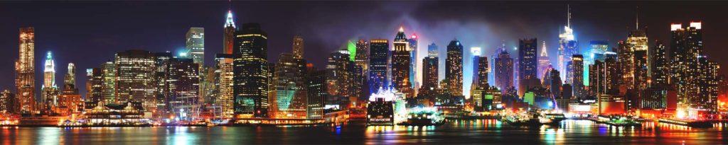 изображение для кухонного фартука нью йорк, картинка для стеновой панели город