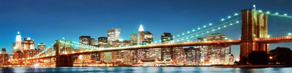 изображение для стеновой панели мост, бруклинский мост для кухонного фартука, скинали мост