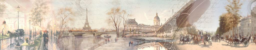 изображение для фартука париж, город, нежный, пастельные тона