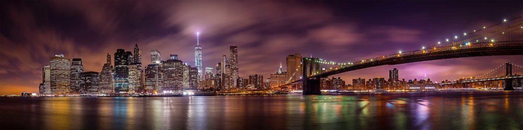 картинка для фартука нью йорк, мост, бруклинский мост