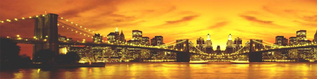изображение для кухонноог фартука нью йоркский мост, мост, бруклинский мост