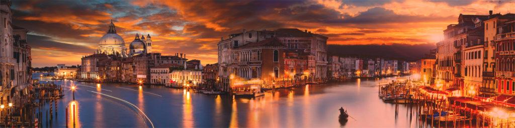 изображение для фартука Венеция, море, огни