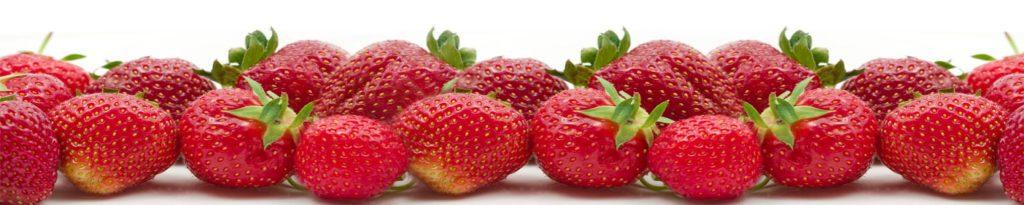 изображение для кухонного фартука, картинка для скинали клубники, фрукты