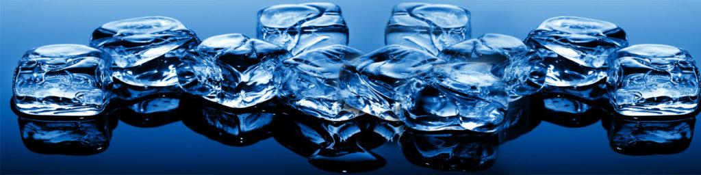 изображения для кухонных фартуков лед, кубики льда