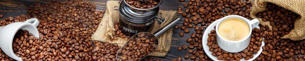 изображения для кухонных фартуков кофе, кофе чашка, зерна, рассыпанные зерна